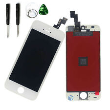 White Assembly LCD Touch Screen Digitizer Replacement for iPhone 5S A1453 A1457