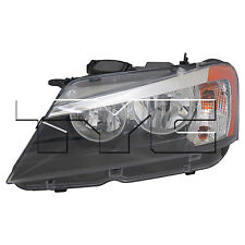 TYC Left Side Halogen Headlight Assembly For BMW X3 2011-2014 Models