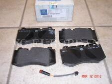 Mercedes W221 S-Class Genuine Front Brake Pad Set,Pads w/Sensor S550 S400 S600