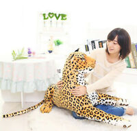 50cm Leopard Plush Soft Toys doll Stuffed Animal Baby kids Birthday Gift home US