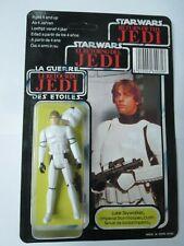 CUSTOM Vintage Luke Skywalker Stormtrooper POTF TRI LOGO MOC Carded Star Wars