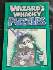 Wizard's Wacky Puzzles Paperback Book 1979