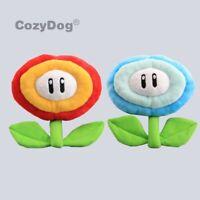 Super Mario Bros. Ice Flower & Fire Flower Plush Toy Stuffed Animal Doll 7''