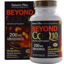 Nature's Plus Beyond COQ-10 200mg Ubiquinol Softgels 60