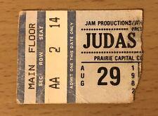 1982 Judas Priest Springfield Il. Concert Ticket Stub Screaming for Vengeance