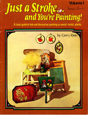 Craft Books: #1800 Just a Stoke and You're Painting