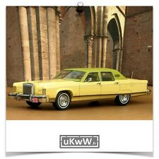 Neo 1/43 - Lincoln Continental Town Car 1977 crème