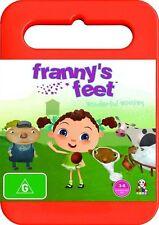 Franny's Feet - Wonderful Woolies : Vol 1 (DVD, 2009) NEW/SEALED [Region 4]