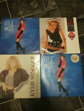 """Kylie minogue """" I Should Be So Lucky """" 12"""" 4 Pack"""
