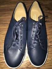 Men's Cole Haan Grand OS Navy Blue Leisure Sneakers Size 11M - New $270