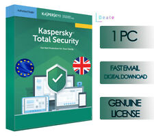 Kaspersky Total Security 2020 (1PC/1YEAR) Genuine EU License - Email Delivery