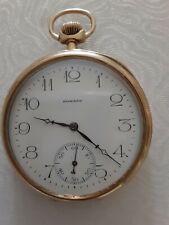 Watch Hinged.Movement Is 17 Jewerls E Howard14k -585 Yellow Gold Pocket