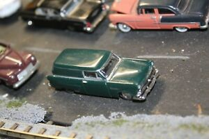 1953 FORD DELIVERY MINI METALS CMW    1/87 HO RTR  GREEN