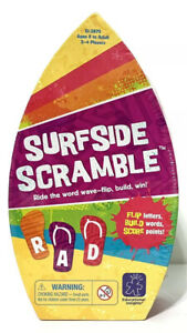 """Educational Board Game Word Scramble """"Surfside Scramble"""" Complete Sealed NEW"""