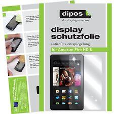 2x Amazon fire HD 6 Film de protection d'écran protecteur cristal clair