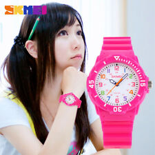 Students Kids Wristwatches Casual Quartz Watch 50m Waterproof Jelly Color 27C1