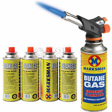 BLOW TORCH BUTANE FLAMETHROWER WEED BURNER WELDING 4 GAS AUTO IGNITION SOLDERING