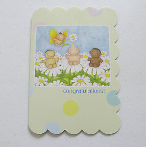 Leanin Tree New Baby Greeting Card Baby Shower Multi Color R9