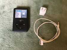 Apple iPod Classic Black 160 Gb (6th Gen) with extras! Model: Mb150Ll