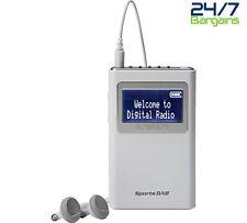 ROBERTS RADIO SPORTS DAB 5 DAB+/FM PERSONAL DIGITAL RADIO - WHITE