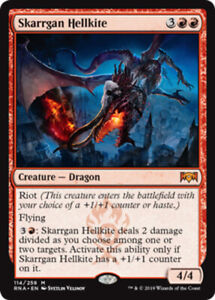 Skarrgan Hellkite x4 Magic the Gathering 4x Ravnica Allegiance mtg card lot