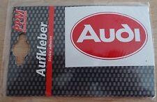 Aufkleber AUDI Classic Logo Sticker quattro Youngtimer Oldtimer 80 90 100 S2
