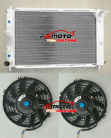 3 row Aluminum Radiator + Fans FOR FORD MUSTANG GT/SVT V8 4.6L/5.4L 1997-2004 AT