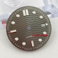 31mm sterile gray watch Dial eta 2836/2824 2813/3804 Miyota 8215 821A movement