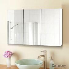 3 Door Bathroom Vanity Mirror Cabinet Storage Medicine Shaving Cupboard
