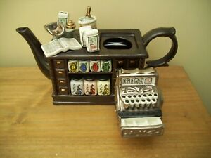 paul cardew teapot handmade tea shop vgc