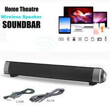 TV Speaker Home Theater Soundbar Bluetooth Wireless Sound Bar Speaker System Aux