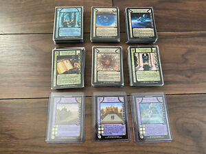 Dune CCG TAT Thunder At Twilight Full Set 230 Cards. NM To M
