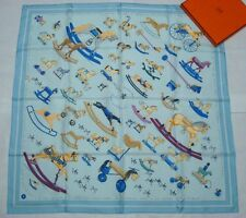 """NEW Authentic Hermes silk scarf """"Raconte-Moi le Cheval"""""""