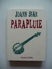 EO 2003 (très bel état) - Les carnets de Joann Sfar 3 (parapluie) - Côtelette 11