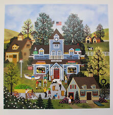 Jane Wooster Scott BOYS WILL BE BOYS Hand Signed Limited Edition Lithograph