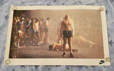 Battle of Atlanta 1978 NIKE Running Poster RARE VHTF Peachtree 70s Vintage