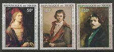 STAMPS-NIGER. 1967. Paintings Set. SG: 244/46. Mint Never Hinged