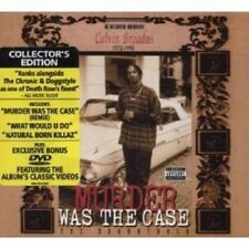 SNOOP DOGGY DOGG - MURDER WAS THE CASE  CD + DVD NEW+