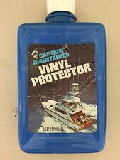 (9) Vintage Captain Maintained Vinyl Protector