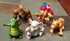 Rain forest Cafe Wild Bunch Animals Action Kids Toys Figurines Complete Set of 6