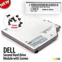 Genuine DELL 2nd IDE HDD Hard Drive Caddy Media Bay Inspiron 300M 8500 8600 9100