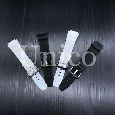 For Casio Rubber Watch Band W-735H SGW-400H SGW-500H MRW-200H AE-1000W
