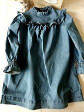 *BONPOINT*  Robe jean  automne hiver T.8 ans