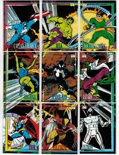 2015 MARVEL RETRO FLEER 1993 MARVEL UNIVERSE 4 COMPLETE 27 CARD INSERT CHASE SET