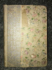 POEMS By JOHN G. WHITTIER Antique HARDCOVER BOOK Vintage 1800's GREENLEAF POETRY
