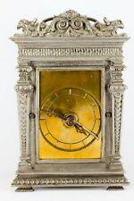 Reisewecker Tischuhr Deutsch Nürnberg Wecker Uhr W A Gründerzeit Historismus
