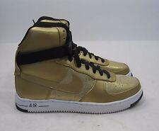 Nike Womens Air Feather High Premium (metallic bronze / black) 39575 .Size.  7.5