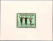 Chad chad 1971 378 c81 Deluxe cooperation with Congo car cultades mnh