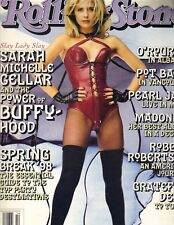 Sarah Michelle Gellar Buffy Rolling Stone 4/2/98 Pearl Jam No Label