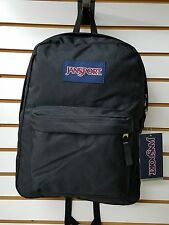 Jansport SUPERBREAK Backpack Classic Black  **100% Authentic**